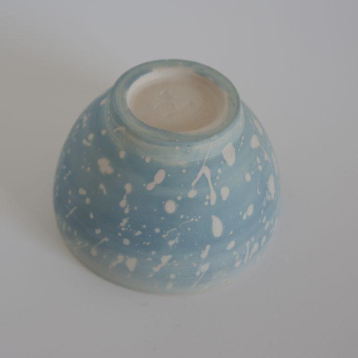Schaal II, cyanotype op keramiek